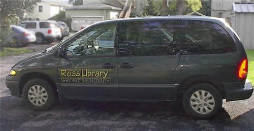 Clinton County Mobile Library Van