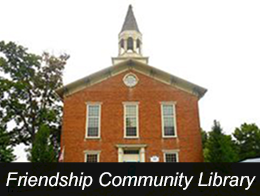 Friendship Community Library Button