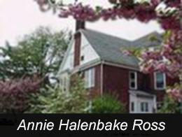 Annie Halenbake Ross Library Button